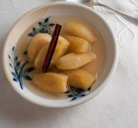 Ο Στέλιος Παρλιάρος μας μαθαίνει να φτιάχνουμε εύκολα γλυκά - Κομπόστα μήλο! - Κυρίως Φωτογραφία - Gallery - Video