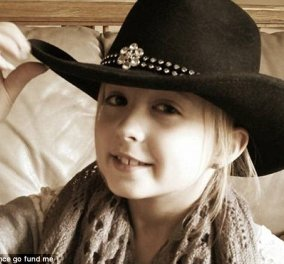 8χρονο κοριτσάκι με καρκίνο του μαστού - Η νεαρότερη που έχει ποτέ διαγνωστεί - Κυρίως Φωτογραφία - Gallery - Video