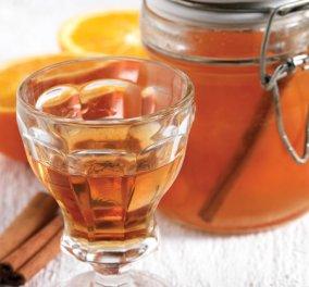 Το ποτό της ημέρας από την καταπληκτική Αργυρώ μας: Λικέρ πορτοκάλι με κανέλα - Κυρίως Φωτογραφία - Gallery - Video