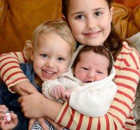 1 στις 133.000: Μανούλα γέννησε τα τρία παιδάκια της στις 16 Νοέμβριου αλλά σε διαφορετική χρονιά   - Κυρίως Φωτογραφία - Gallery - Video
