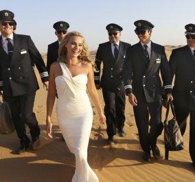 Η απίθανη καλλονή Margot Robbie στην έρημο του Αμπού Ντάμπι λανσάρει το νέο Boeing - Κυρίως Φωτογραφία - Gallery - Video