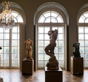 Φωτό & βίντεο από το εξαίσιο μουσείο Ροντέν: Ανοικτό μετά από 3 χρόνια & έργα ανακαίνισης 16 εκατ. € - Θαυμάστε το - Κυρίως Φωτογραφία - Gallery - Video