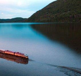 Διαδρομές στα πιο απίθανα μέρη με το πιο ιδιαίτερο τρένο στον κόσμο - Κυρίως Φωτογραφία - Gallery - Video