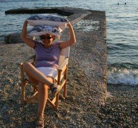 Made in Greece η Ολυμπία Μπασκλαβάνη: Οι εντυπωσιακές τσάντες της πωλούνται & στο Βρετανικό Μουσείο - Κυρίως Φωτογραφία - Gallery - Video