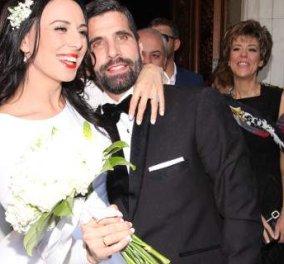 Γαμπρός ο Θανάσης Βισκαδουράκης - Όλα όσα έγιναν στον γάμο του με την Κατερίνα - Κυρίως Φωτογραφία - Gallery - Video