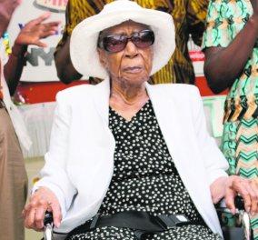 Η...μεγάλη ιστορία της γηραιότερης γυναίκας του κόσμου: Ζει στο Μπρούκλυν είναι 116 ετών & είχε άλλα 10 αδέλφια  - Κυρίως Φωτογραφία - Gallery - Video