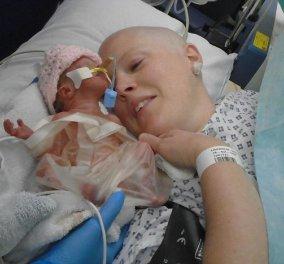Ανείπωτη τραγωδία: 32χρονη έγκυος με καρκίνο ανέβαλε την χειμιοθεραπεία αλλά το κοριτσάκι της έζησε μόλις 8 μέρες!  - Κυρίως Φωτογραφία - Gallery - Video