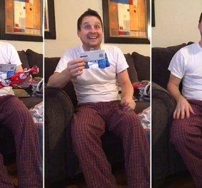 Βίντεο: Το πρωτότυπο δώρο της κόρης στο μπαμπά της - Η φάρσα που θα του μείνει αξέχαστη! - Κυρίως Φωτογραφία - Gallery - Video