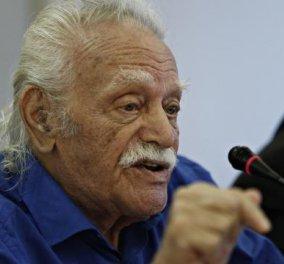 Σε αντάρτικο κατά ΣΥΡΙΖΑ καλεί ο Μανώλης Γλέζος τους Έλληνες βουλευτές: Σπάστε τα δεσμά και ελευθερώστε συνειδήσεις - Κυρίως Φωτογραφία - Gallery - Video