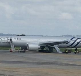 Μυστήριο με το ύποπτο αντικείμενο της πτήσης της Air France - Μοιάζει με βόμβα, αλλά χωρίς εκρηκτικά - Κυρίως Φωτογραφία - Gallery - Video
