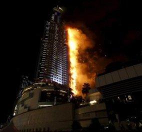 Στις φλόγες 5αστερο ξενοδοχείο στο Ντουμπάι - Ένας νεκρός και 14 τραυματίες - Άγνωστα παραμένουν τα αίτια - Κυρίως Φωτογραφία - Gallery - Video