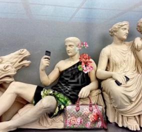 """Σάλος με την καμπάνια της Gucci που """"έντυσε"""" γλυπτά του Παρθενώνα με πολυτελή αξεσουάρ: Βεβήλωση & ιεροσυλία λένε οι αρχαιολόγοι  - Κυρίως Φωτογραφία - Gallery - Video"""
