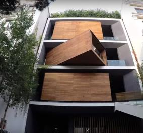 Αυτό το σπίτι σίγουρα διαφέρει από τα συνηθισμένα – Βίντεο - Όταν ο κύβος του Ρούμπικ έγινε κατοικία! - Κυρίως Φωτογραφία - Gallery - Video