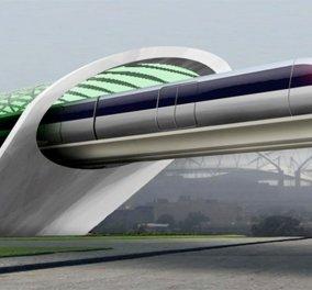 Μεταφορά με ταχύτητα ίδια με εκείνη του ήχου; Το Hyperloop είναι οι συγκοινωνίες του μέλλοντος  - Κυρίως Φωτογραφία - Gallery - Video