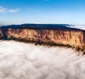Μοναδικό φαινόμενο: Το βουνό που δεν έχει... κορυφή και μαγνητίζει τα βλέμματα στη Βενεζουέλα - Κυρίως Φωτογραφία - Gallery - Video