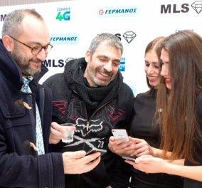 Σερβετάς & Κιούσης με το MLS Diamond 4G, το πιο λεπτό Smartphone με οθόνη 5'', πήγαν στον Γερμανό - Κυρίως Φωτογραφία - Gallery - Video