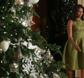 Δείτε πως στόλισε το Λευκό Οίκο η Μισέλ Ομπάμα με 4 διάσημους σχεδιαστές μόδας - Φωτό & βίντεο - Κυρίως Φωτογραφία - Gallery - Video