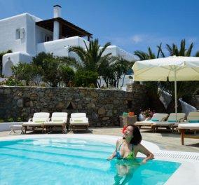 Good news: Η κορυφαία πισίνα σε βίλα στην Ευρώπη είναι Ελληνική και βρίσκεται στη Μύκονο - Κυρίως Φωτογραφία - Gallery - Video