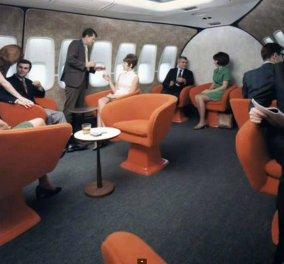 Vintage pics: Έχετε δει πόσο άνετα & κυριλάτα πετούσαν με αεροπλάνο το 1970 οι επιβάτες; Εικόνες  - Κυρίως Φωτογραφία - Gallery - Video