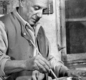 Vintage pics: Ο Πικάσο, ο Ματίς, ο Καντίνσκι, ο Μονέ και άλλοι …εν ώρα εργασίας!  - Κυρίως Φωτογραφία - Gallery - Video