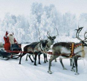 Βίντεο: O Άγιος Βασίλης με το έλκηθρό του πέρασε πάνω από την Ακρόπολη - Κυρίως Φωτογραφία - Gallery - Video