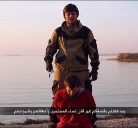 Νέο βίντεο φρίκης έδωσε στη δημοσιότητα το Ισλαμικό Κράτος με Ρώσο τζιχαντιστή να αποκεφαλίζει Ρώσο όμηρο  - Κυρίως Φωτογραφία - Gallery - Video
