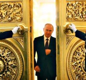Β. Πούτιν: Μπορώ να συνεργαστώ εύκολα και με ΗΠΑ και με Άσαντ αρκεί να λυθεί το πρόβλημα της Συρίας - Κυρίως Φωτογραφία - Gallery - Video