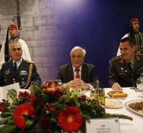 147 Χρόνια η Προεδρική φρουρά  Ο Προκοπής Παυλόπουλος σε επίσημο γεύμα  σήμερα μαζί τους - 46a2a1e0e80