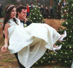 Ένας γάμος παραμυθένιος & Χριστουγεννιάτικος - Το ζευγάρι σε μαγικό διάκοσμο & ερωτική μελωδία - Κυρίως Φωτογραφία - Gallery - Video
