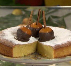 Ο Στέλιος Παρλιάρος & το υγρό κέικ με μανταρίνι - Δεν έχετε ξαναφάει τέτοιο κεκάκι     - Κυρίως Φωτογραφία - Gallery - Video