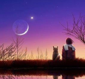 Σελήνη στους Ιχθύες τετράγωνο με Ήλιο - Τι δείχνουν τα άστρα για κάθε ζώδιο - Κυρίως Φωτογραφία - Gallery - Video