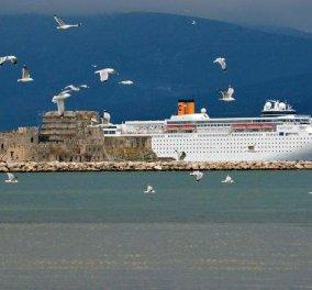 Το Costa Neoclassica έπιασε λιμάνι - Tο Ναύπλιο & το Μπούρτζι σε εκπληκτικά κλικς - Κυρίως Φωτογραφία - Gallery - Video