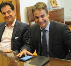 """Άδωνις - Χατζηδάκης, οι δύο αντιπρόεδροι του Κυριάκου - Ανακοινώθηκαν τα ονόματα των δυο """"υπαρχηγών"""" - Κυρίως Φωτογραφία - Gallery - Video"""