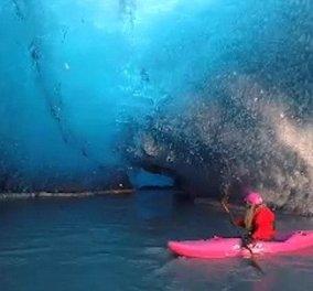 Βίντεο: Μια μαγευτική βόλτα σε κρυστάλλινη σπηλιά - Τι λέτε ταξιδεύουμε στην Ισλανδία; - Κυρίως Φωτογραφία - Gallery - Video