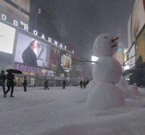 """Χιονοθύλλα """"μαμούθ"""" στην Αμερική: 20 νεκροί, δεκάδες τραυματίες - Απαγόρευση κυκλοφορίας - Κυρίως Φωτογραφία - Gallery - Video"""