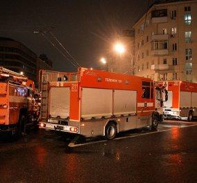 Τραγωδία στη Μόσχα: 12 νεκροί, τα τρία παιδιά, από πυρκαγιά σε εργοστάσιο ρούχων (Βίντεο & φωτό) - Κυρίως Φωτογραφία - Gallery - Video
