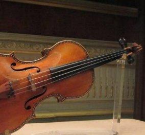 Πώς μια νεαρή μουσικός έχασε το πανάκριβο βιολί της αξίας 2,4 εκ. ευρώ στο τρένο & το ξαναβρήκε  - Κυρίως Φωτογραφία - Gallery - Video
