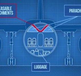 Αεροπλάνο με αποσπώμενη καμπίνα σώζει ζωές - Το design του Ρώσου εφευρέτη που θα φέρει επανάσταση - Κυρίως Φωτογραφία - Gallery - Video