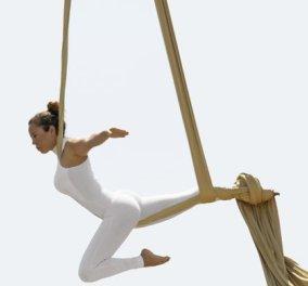 Aerial Dance : Η νέα γυμναστική με χορό στον αέρα που κατακτά τον «πλανήτη» women, ανεβάζει την αδρεναλίνη,  «χτίζει» το σώμα & την αυτοπεποίθηση - Τολμάς να γυμναστείς στον αέρα; - Κυρίως Φωτογραφία - Gallery - Video