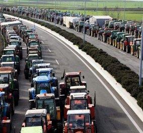 Τα μπλόκα των αγροτών στην Μακεδονία - Δείτε πότε και ποιοι δρόμοι θα κλείσουν - Κυρίως Φωτογραφία - Gallery - Video