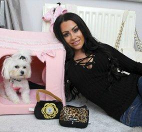 Η 24χρονη κοπέλα ξοδεύει 650 ευρώ το μήνα για να ντύνει και να στολίζει το σκυλάκι της - Δείτε όλη την γκαρνταρόμπα   - Κυρίως Φωτογραφία - Gallery - Video