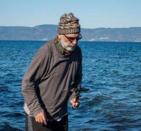 Story: Πως ένας Καλιφορνέζος συνταξιούχος πήγε στη Λέσβο & ξεπληρώνει χρέος 100 ετών  - Κυρίως Φωτογραφία - Gallery - Video