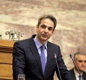 Κ. Μητσοτάκης στην Κ.Ο της ΝΔ: «Δεν θα γίνουμε δεκανίκι της κυβέρνησης ΣΥΡΙΖΑ - Είναι ανίκανη, ανεύθυνη & ιδεοληπτική» - Κυρίως Φωτογραφία - Gallery - Video