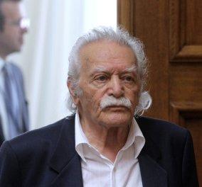 Μανώλης Γλέζος: Ζητώ συγγνώμη για πολλοστή φορα που εμπιστεύτηκα τον Τσίπρα - Κυρίως Φωτογραφία - Gallery - Video