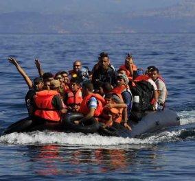 Η κακοκαιρία ανέκοψε τη ροή μεταναστών και προσφύγων προς τη Λέσβο - Μόλις 17 άτομα καταγράφηκαν το τελευταίο 24ωρο - Κυρίως Φωτογραφία - Gallery - Video