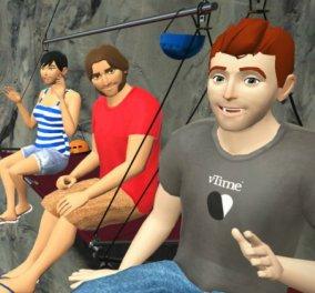 VTime: Το πρώτο εικονικό μέσο κοινωνικής δικτύωσης μόλις έφτασε & ταξιδεύει στον φουτουριστικό κόσμο μας  - Κυρίως Φωτογραφία - Gallery - Video