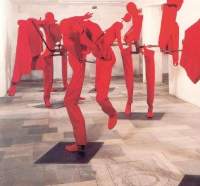 """Πέθανε ο κορυφαίος γλύπτης Γιώργος Λάππας - Οι """"Αστοί"""" τα ανθρωπάκια του θα φωτίζουν για πάντα   - Κυρίως Φωτογραφία - Gallery - Video"""
