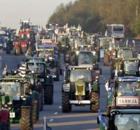 Αγρίεψαν οι αγρότες για το Ασφαλιστικό - Μπλόκα παντού & ''ομηρία'' του υπουργού  Αγροτικής Ανάπτυξης στην Ροδόπη - Κυρίως Φωτογραφία - Gallery - Video