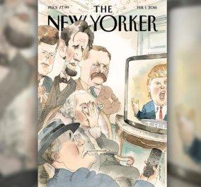 Σε ντροπή ή μεγάλο φαβορί εξελίσσεται ο Τραμπ; 5 απελπισμένοι Πρόεδροι των ΗΠΑ σε ένα συγκλονιστικό εξώφυλλο - Κυρίως Φωτογραφία - Gallery - Video