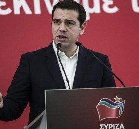 Ξεκίνησε η ομιλία του Αλέξη  Τσίπρα για τον έναν χρόνο κυβέρνησης ΣΥΡΙΖΑ (Φωτό) - Κυρίως Φωτογραφία - Gallery - Video